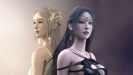 Теос: Желание богини - клиентская MMORPG