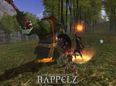 Rappelz - фэнтези MMORPG с клиентом
