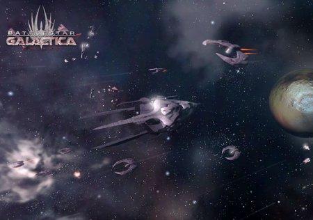 Battlestar Galactica - браузерная космическая RPG