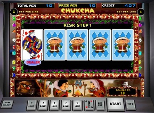 Путешествие за богатствами севера с игровым аппаратом «Chukchi Man»