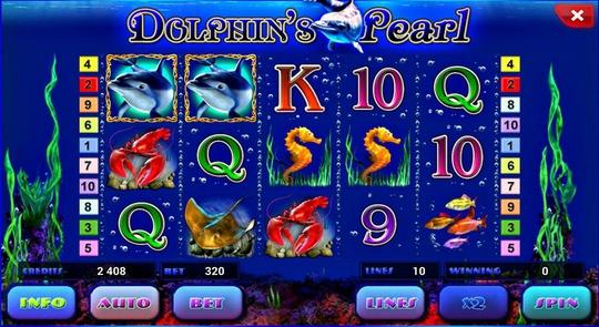 Подводные приключения с игровым аппаратом «Dolphins Pearl»